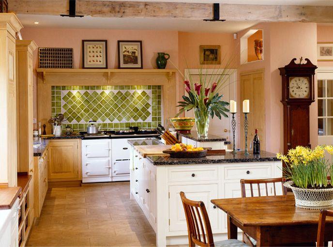 Modern farmhouse kitchen interior design trend home decor for Modern kitchen in traditional house