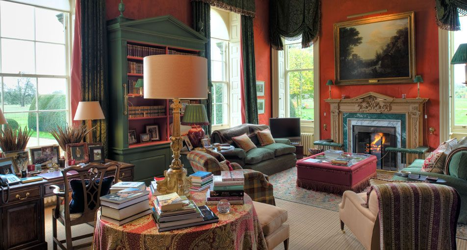Mark gillette interior design and architecture working in Country home interior design